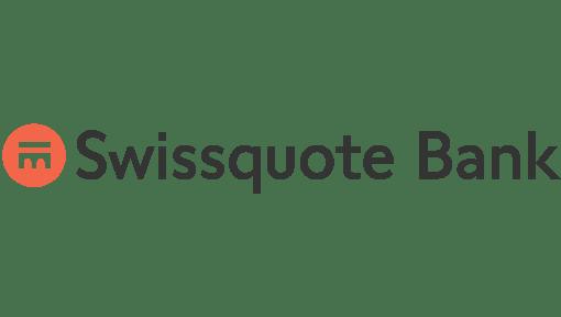 Logo de Swissquote, partenaire du Comité HEC